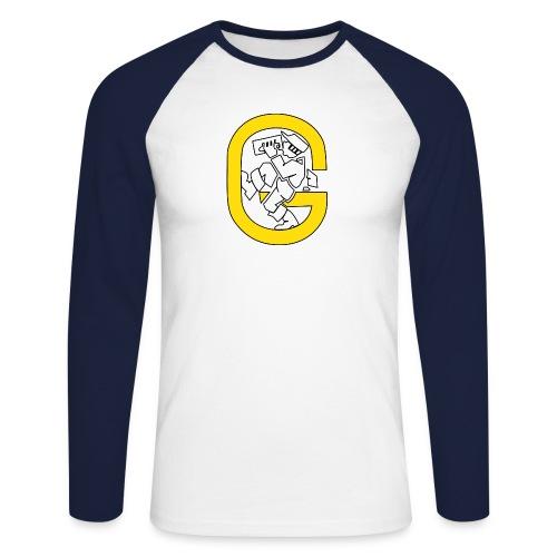Guntrum Herren Baseball - Männer Baseballshirt langarm