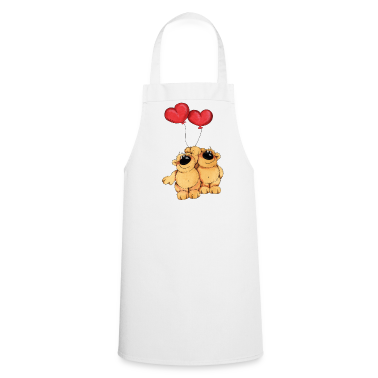 Two bears in love  Aprons