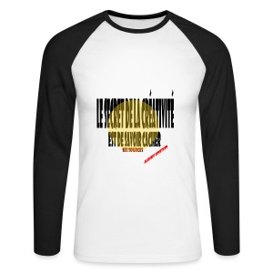 Créativité - T-shirt baseball manches longues Homme