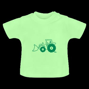 Traktor Frontlader Baby Shirts