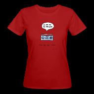 T-Shirts ~ Women's Organic T-shirt ~ Stop the bad music - Women's colour tee