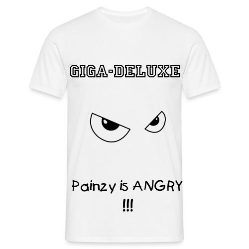 Giga-Deluxe Painzy is ANGRY Shirt - Männer T-Shirt