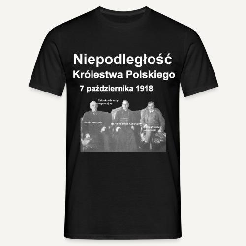 Niepodległość Królestwa Polskiego - Koszulka męska