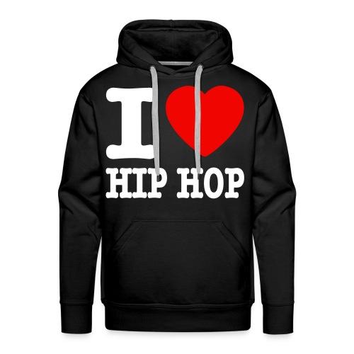 I Love Hiphop - Premiumluvtröja herr