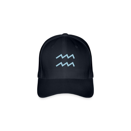 Cappellino adulto Acquario - Cappello con visiera Flexfit