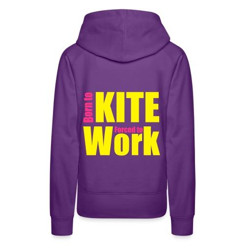 Born to Kite - Frauen Premium Hoodie