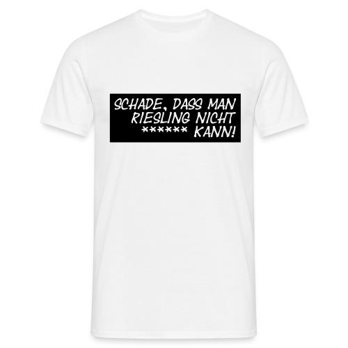 Riesling*** - Männer T-Shirt