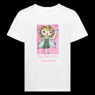 T-shirts ~ Organic børne shirt ~ Jeg skal være storesøster! (fairy)