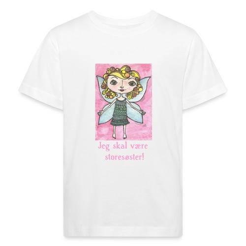 Jeg skal være storesøster! (fairy) - Organic børne shirt