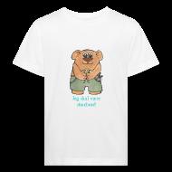 T-shirts ~ Organic børne shirt ~ Jeg skal være storebror! (bamse)
