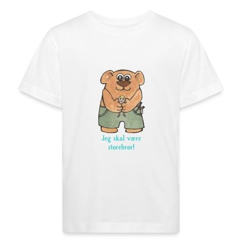 Jeg skal være storebror! (bamse) - Organic børne shirt