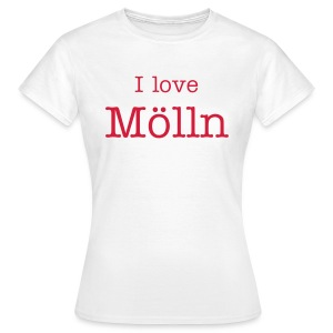 I love Mölln Frauen-Shirt  - Frauen T-Shirt