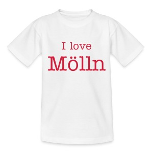 I love Mölln Kinder-Shirt  - Teenager T-Shirt