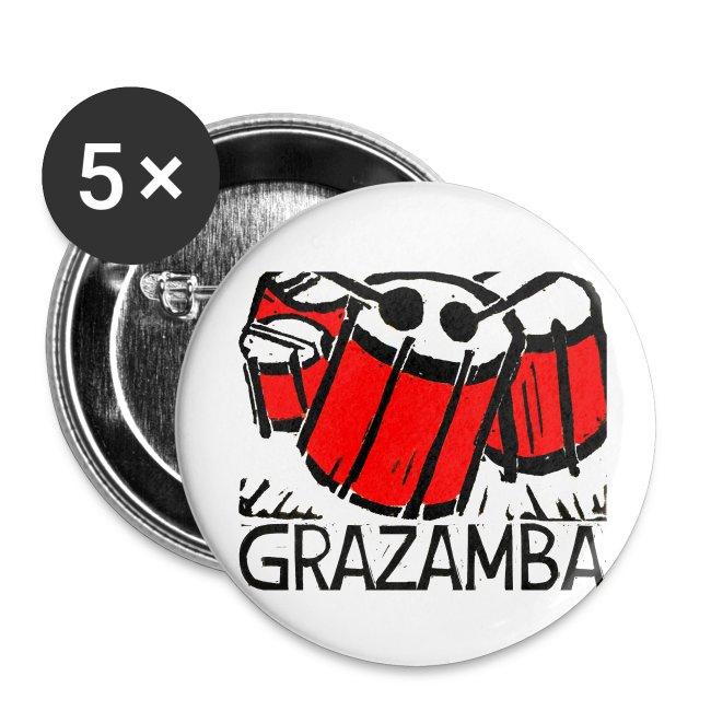 GRAZAMBA Buttons (mittel)