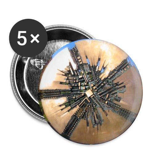 Grande Disco - Georg-Büchner-Denkmal - Buttons groß 56 mm