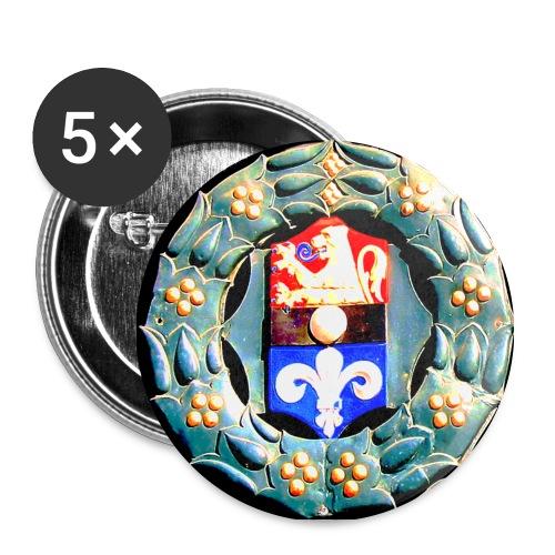 Altes Darmstadt-Wappen - Buttons mittel 32 mm