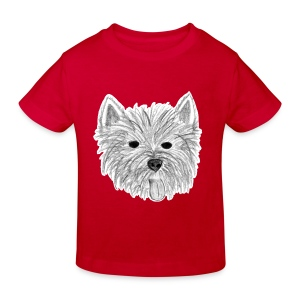 Westie Kindershirt - Kinder Bio-T-Shirt