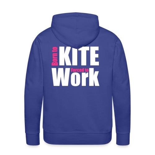 Born to Kite - Männer Premium Hoodie