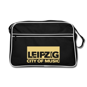Leipzig - City Of Music - Retro Tasche