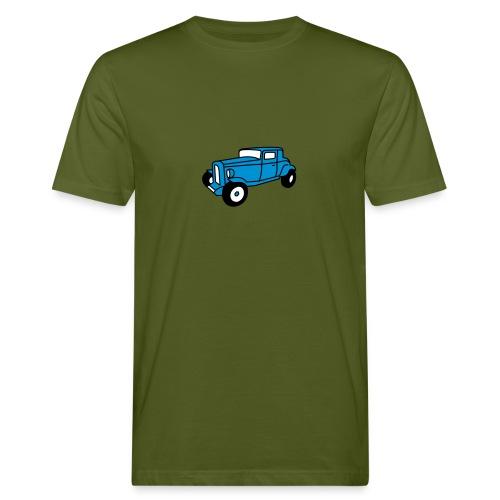 Hot Rod Oldtimer 1 - Flockdruck - Männer Bio-T-Shirt