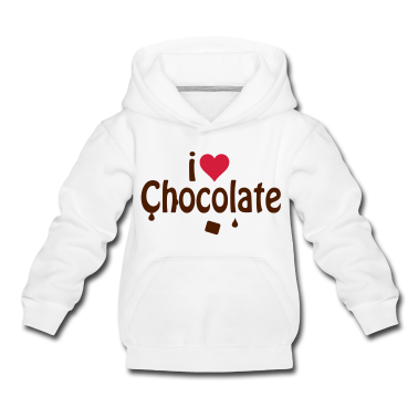I love chocolate Kids' Tops