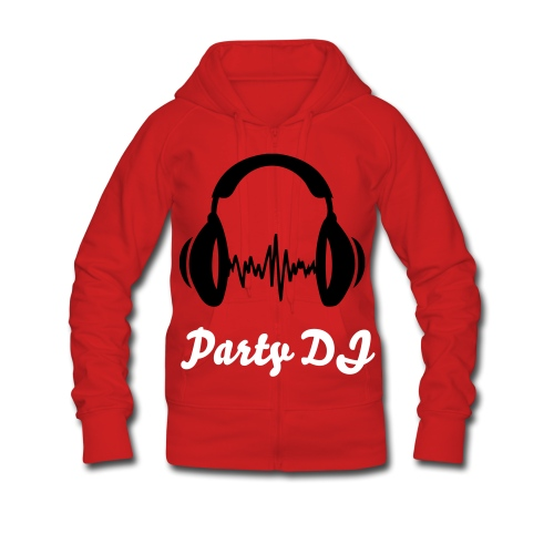 Party DJ - Frauen Premium Kapuzenjacke