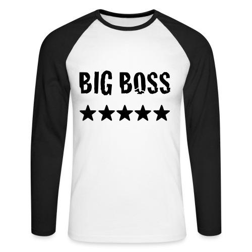 Big Boss - Männer Baseballshirt langarm