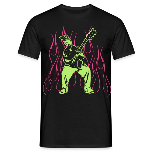 Bone Crush'n Guitar Licks - Men's T-Shirt
