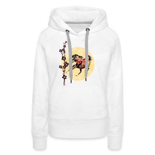Frauen Premium Hoodie - Pferdelandia,Pferde, T-Shirt ! Frauen Pferde T-Shirt  von Pferdelandia hat schicke , leuchtete Farben ! Sehr hochwertig verarbeitet.