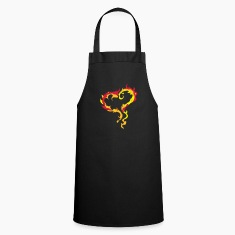 Heart of Flames  Aprons