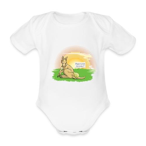 Australie VS Nouvelle Zélande - Body bébé bio manches courtes