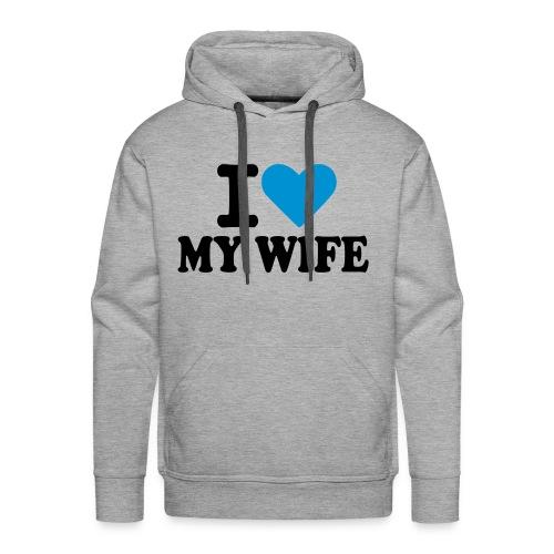 My Wife - Mannen Premium hoodie