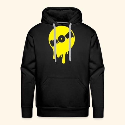 Vinyl Hoodie Black  - Men's Premium Hoodie