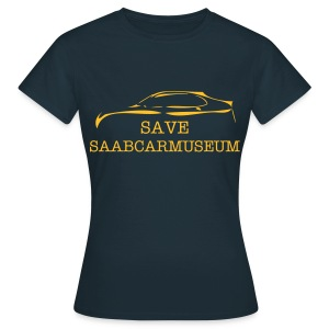 SAVE SAABCARMUSEUM - Frauen T-Shirt