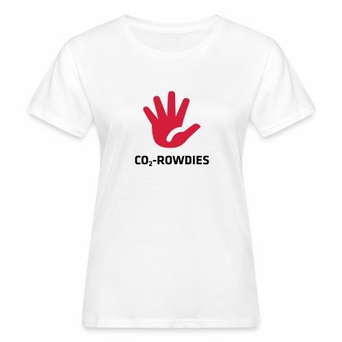 Stoppt die CO2 Übeltäter. Klimaschutz. - Frauen Bio-T-Shirt