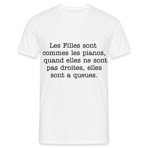 Pianos - T-shirt Homme
