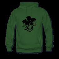 Sweat-shirts ~ Sweat-shirt à capuche Premium pour hommes ~ Pocker face.