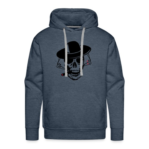 Pocker face. - Sweat-shirt à capuche Premium pour hommes