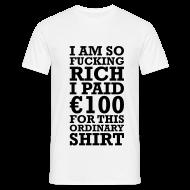 Tee shirts ~ Tee shirt Homme ~ So rich man.