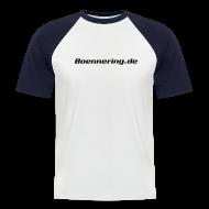 T-Shirts ~ Männer Baseball-T-Shirt ~ Das Boennering-Kurzarm-Baseballshirt - Farbe wählbar