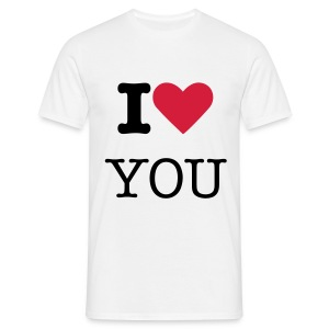 i'love you - T-shirt Homme
