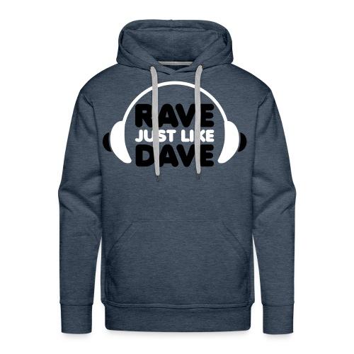 Rave 6 - Sudadera con capucha premium para hombre