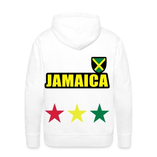 Reggae - Sudadera con capucha premium para hombre