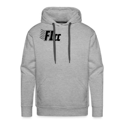 Hoodie - Black Logo - Men's Premium Hoodie