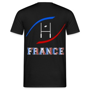 t-shirt rugby couleurs france - T-shirt Homme