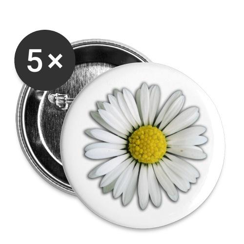 fleur - Badge moyen 32 mm