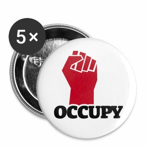 Occupy - Buttons groß 56 mm