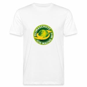Klimaschutz, ich mache mit - Männer Bio-T-Shirt