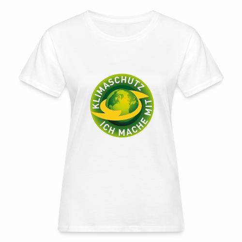 Klimaschutz, ich mache mit - Frauen Bio-T-Shirt