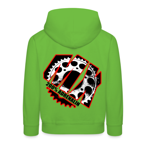 MX 200% Adrenalin # Monsters of Motocross - Kinder Premium Hoodie